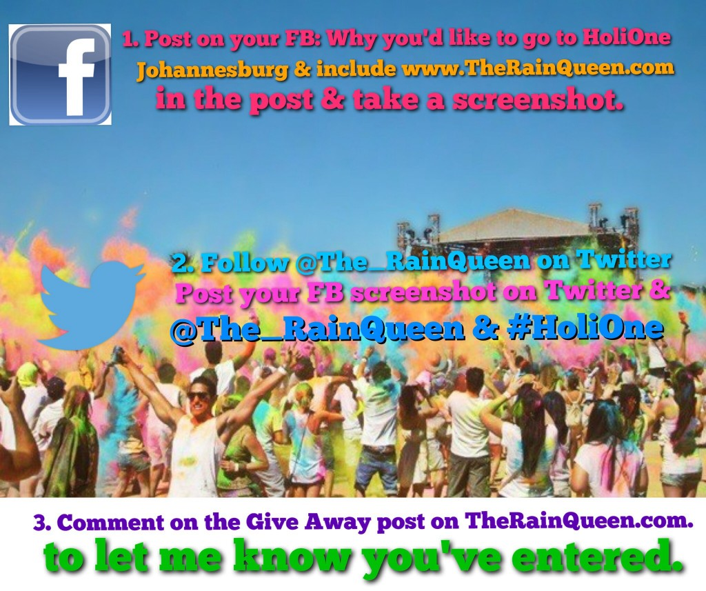 Therainqueen.com HoliOne competition rules