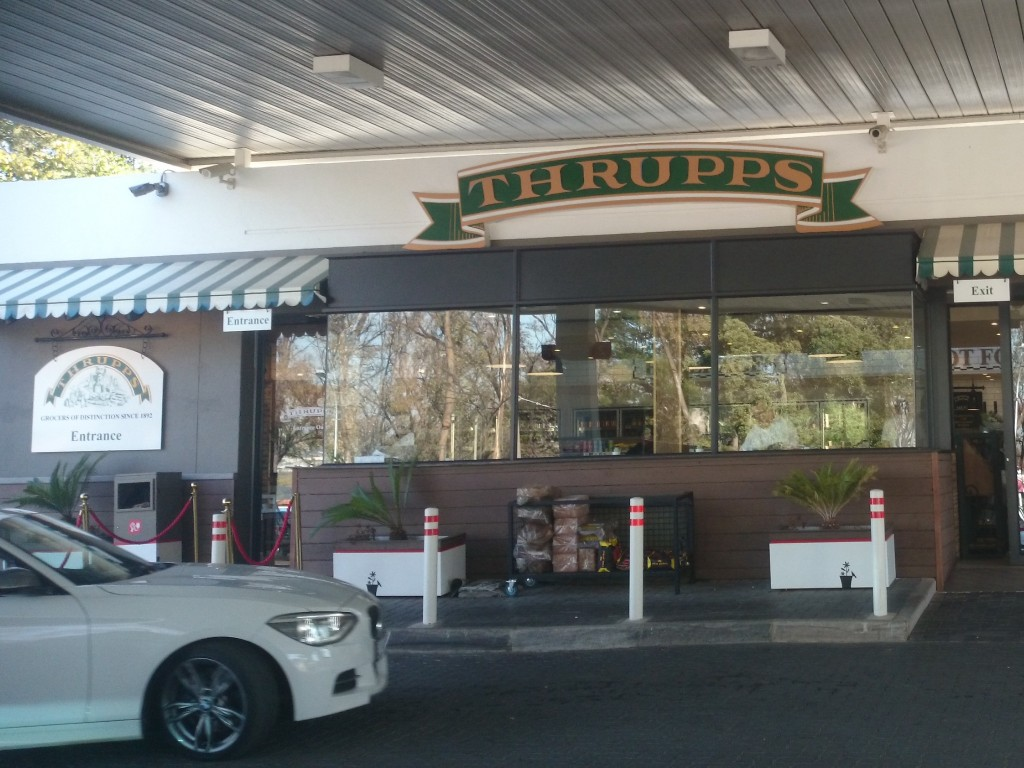 Thrupps Linksfield entrance