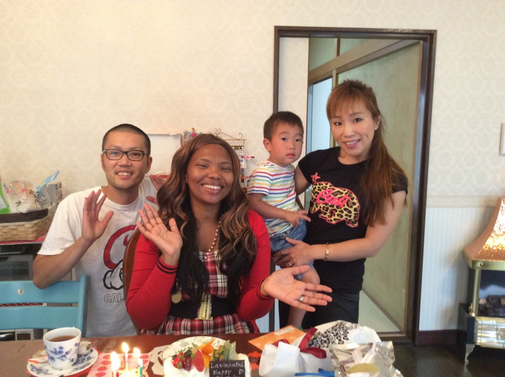 Lala and Fujio family